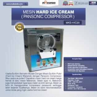 Jual Mesin Hard Ice Cream (HIC20) di Blitar