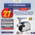 Jual Mesin Giling Daging (Meat Grinder) MHW-G51B di Blitar