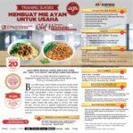 Training Sukses Membuat Mie Ayam Untuk Usaha, Minggu, 29 Desember 2019