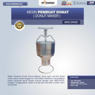 Jual Mesin Pembuat Donat (Donut Maker) MKS-DN03 di Blitar
