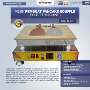 Jual Mesin Pembuat Pancake Souffle (Souffle Machine) MKS-SFL01 di Blitar
