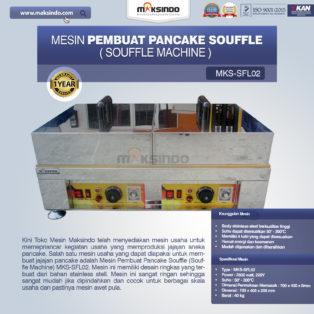 Jual Mesin Pembuat Pancake Souffle (Souffle Machine) MKS-SFL02 di Blitar