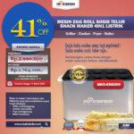 Jual Mesin Egg Roll Sosis Telur Snack Maker 4in1 Listrik di Blitar