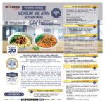 Training Membuat Mie Ayam Nusantara, Minggu 15 Maret 2020