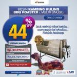 Jual Mesin Kambing Guling Double Location Roaster (GRILLO-LMB55) di Blitar