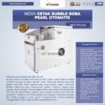 Jual Mesin Cetak Bubble Boba Pearl Otomatis MKS-TPC504 di Blitar
