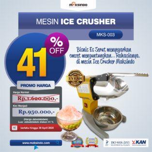 Jual Mesin Es Serut (Ice Crusher MKS-003) di Blitar