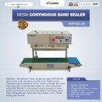 Jual Mesin Continuous Band Sealer MSP-BSL-88 di Blitar