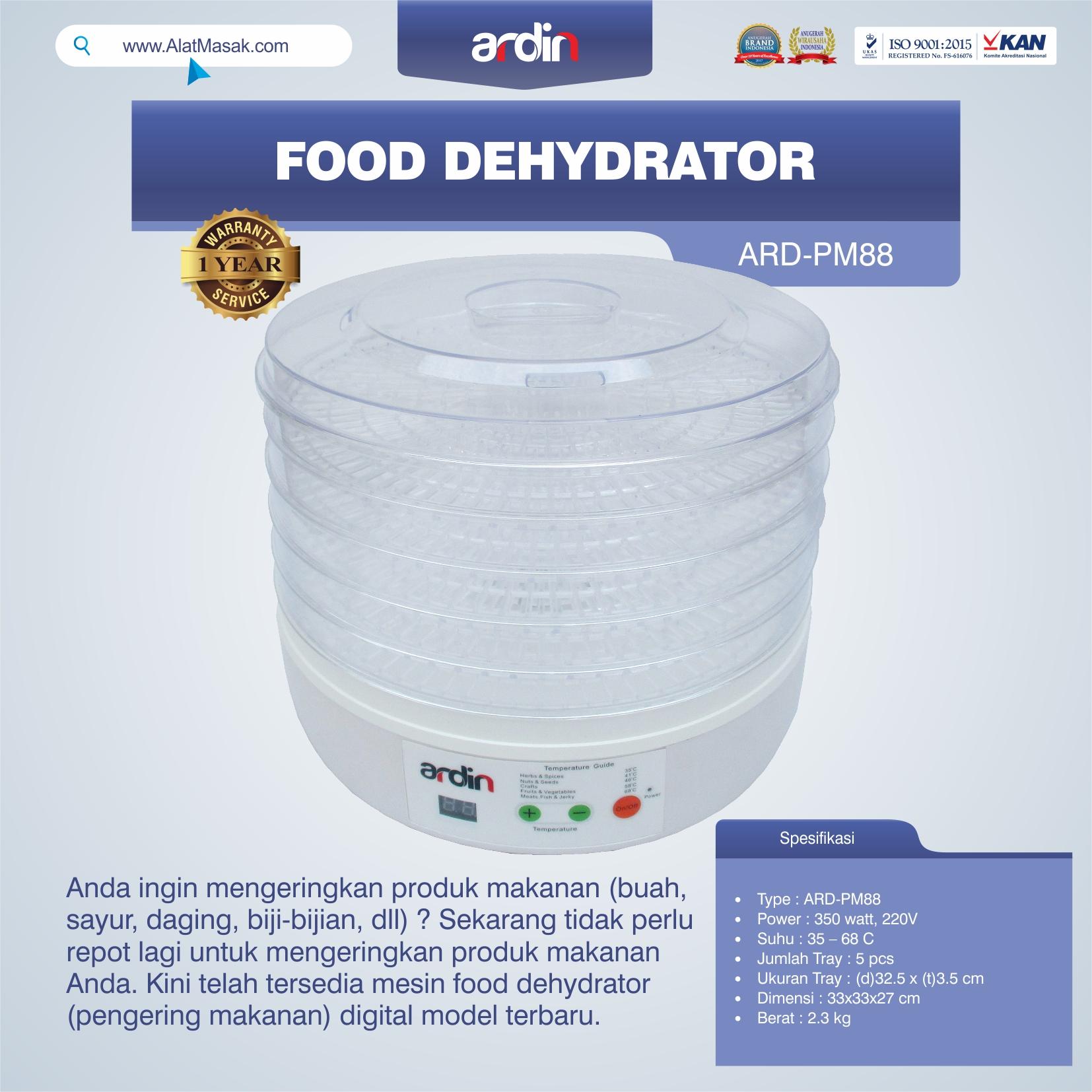 Jual Food Dehydrator ARD-PM88 di Blitar