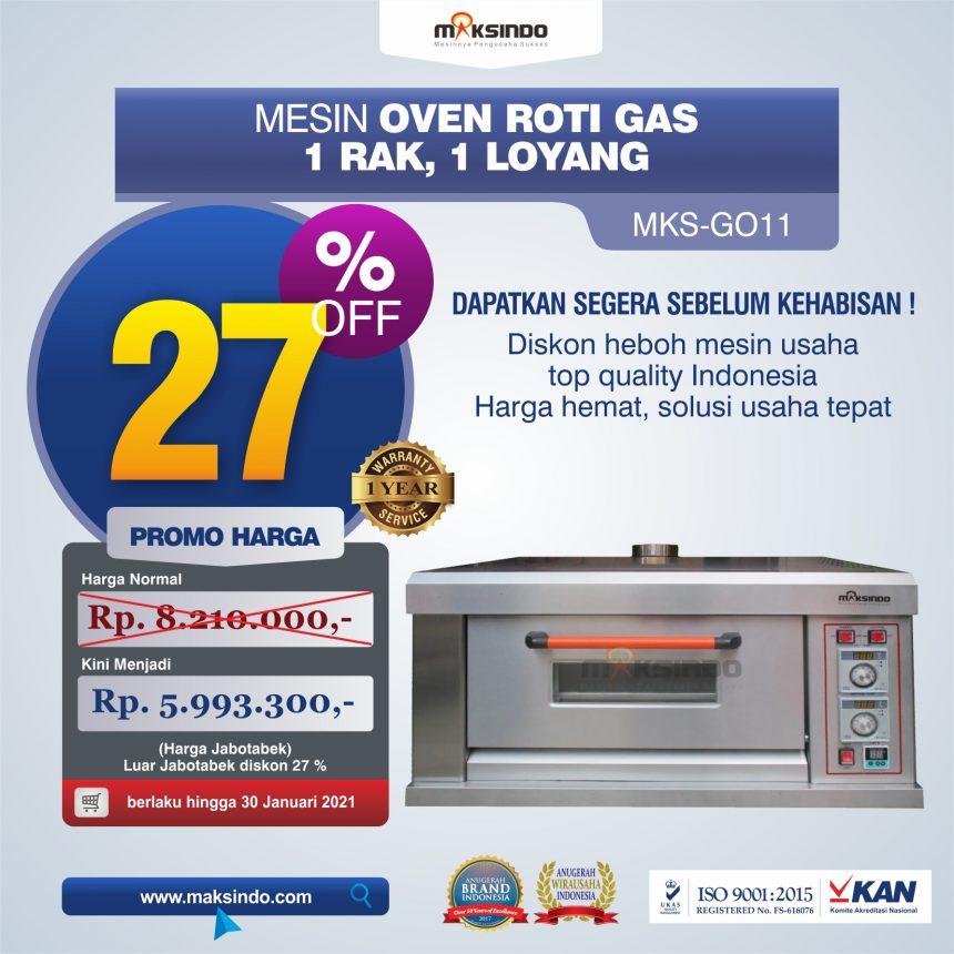 Jual Mesin Oven Roti Gas (MKS-GO11) di Blitar