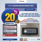 Jual Vacuum Sealer Double Seal DZ400T/2CB di Blitar