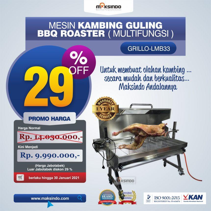 Jual Mesin Kambing Guling BBQ Roaster (GRILLO-LMB33) di Blitar