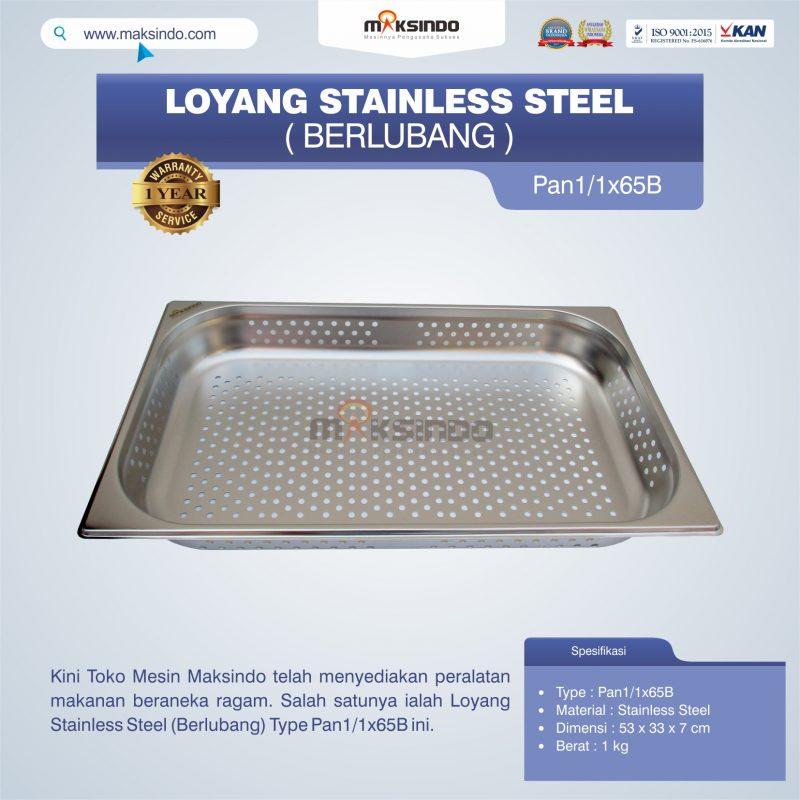 Jual Loyang Stainless Steel (Berlubang) Type Pan1/1x65B di Blitar