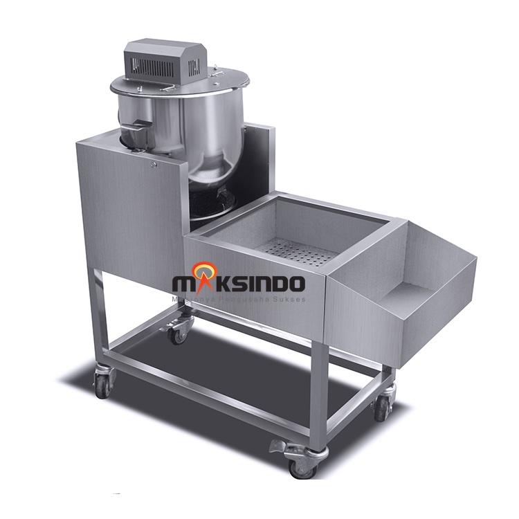 Jual Mesin Popcorn Gas Model MKS-CRM350 di Blitar