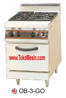 Jual Mesin Gas Open Burner (Kompor Kabinet) di Blitar