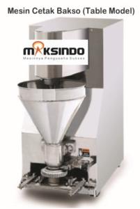 Jual Mesin Cetak Bakso Mini (Table Model) – MCB-200B di Blitar