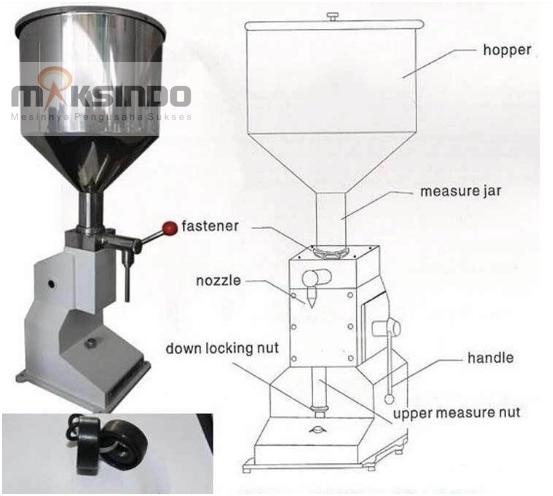 Jual Mesin Manual Filling Cairan-Pasta – MKS-MF10 di Blitar