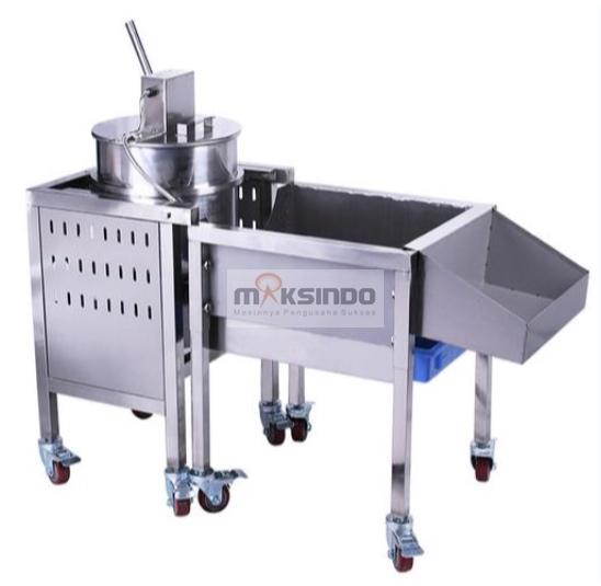 Jual Mesin Popcorn Caramel (Gas) – MKS-CRM300 di Blitar