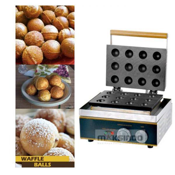 Jual Mesin Waffle Bentuk Bola Bulat (BLS12) di Blitar