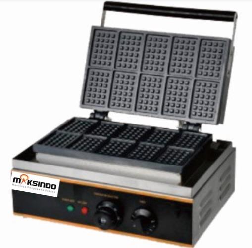 Jual Mesin Waffle Kotak 10 (WF10) Di Blitar