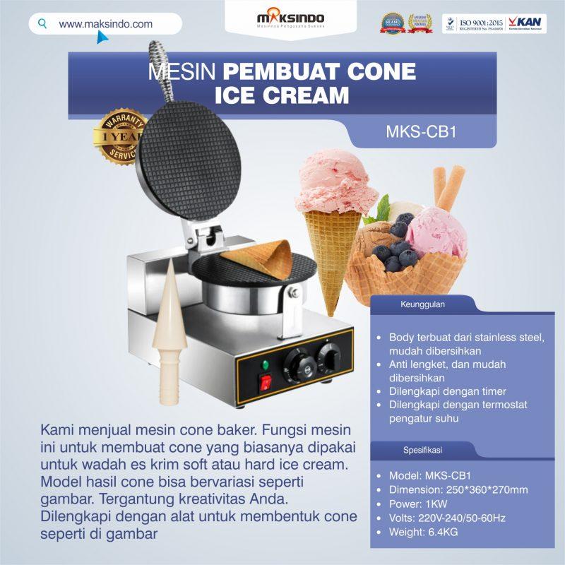 Jual Mesin Pembuat Cone (Cone Baker) Untuk Es Krim di Blitar