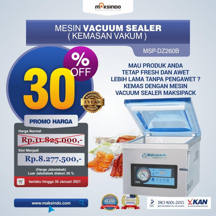 Jual Mesin Vacuum Sealer ( MSP-DZ260B) di Blitar