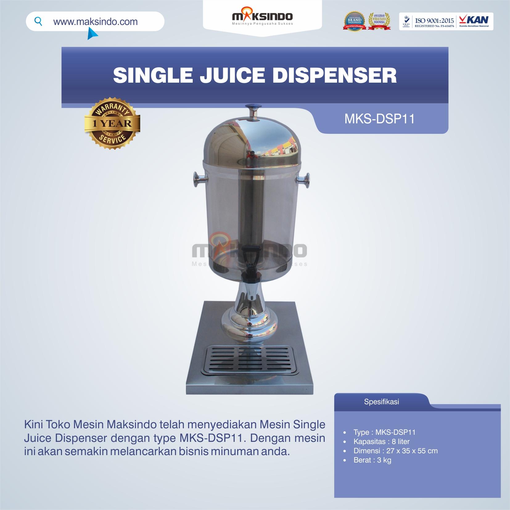 Jual Single Juice Dispenser MKS-DSP11 di Blitar