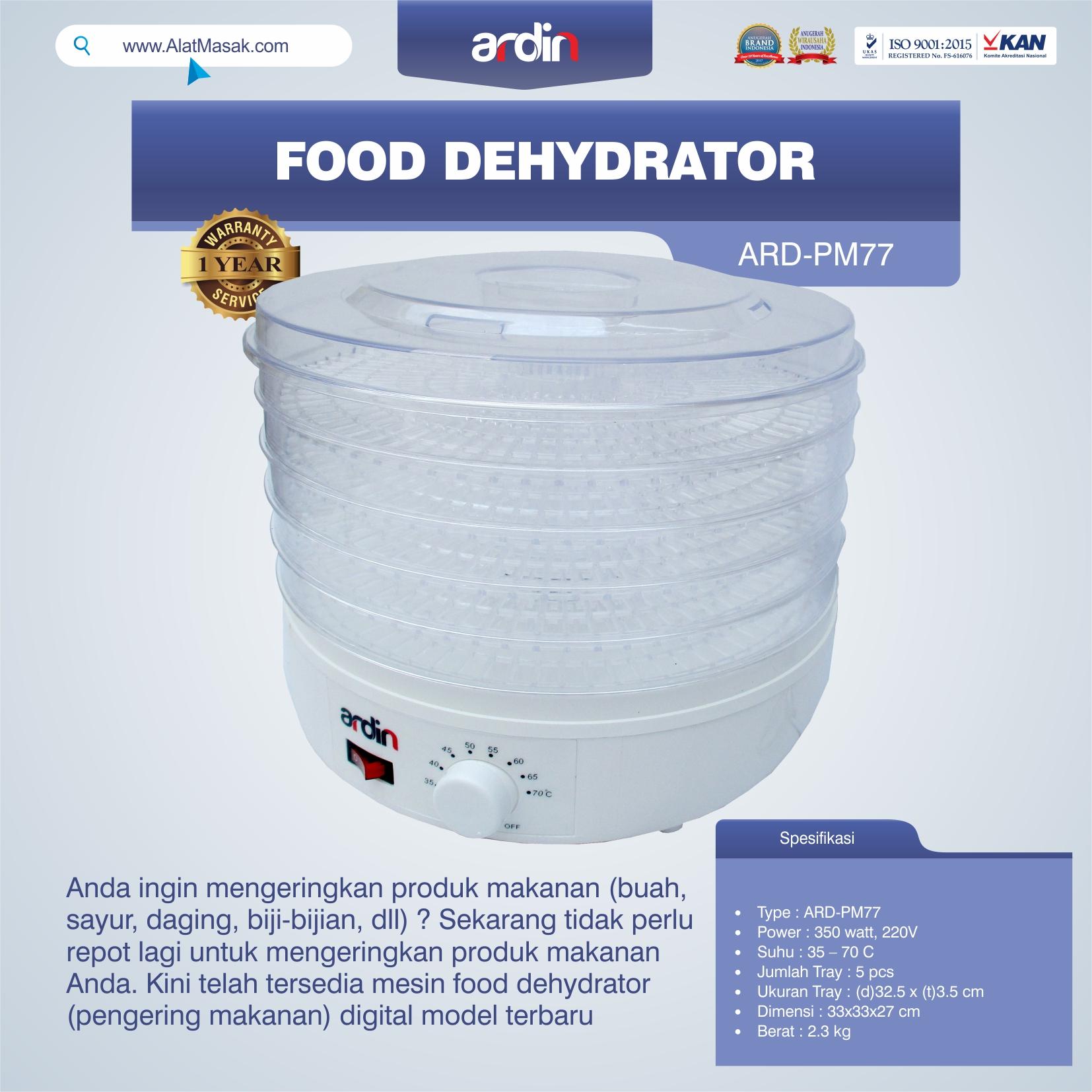 Jual Food Dehydrator ARD-PM77 di Blitar