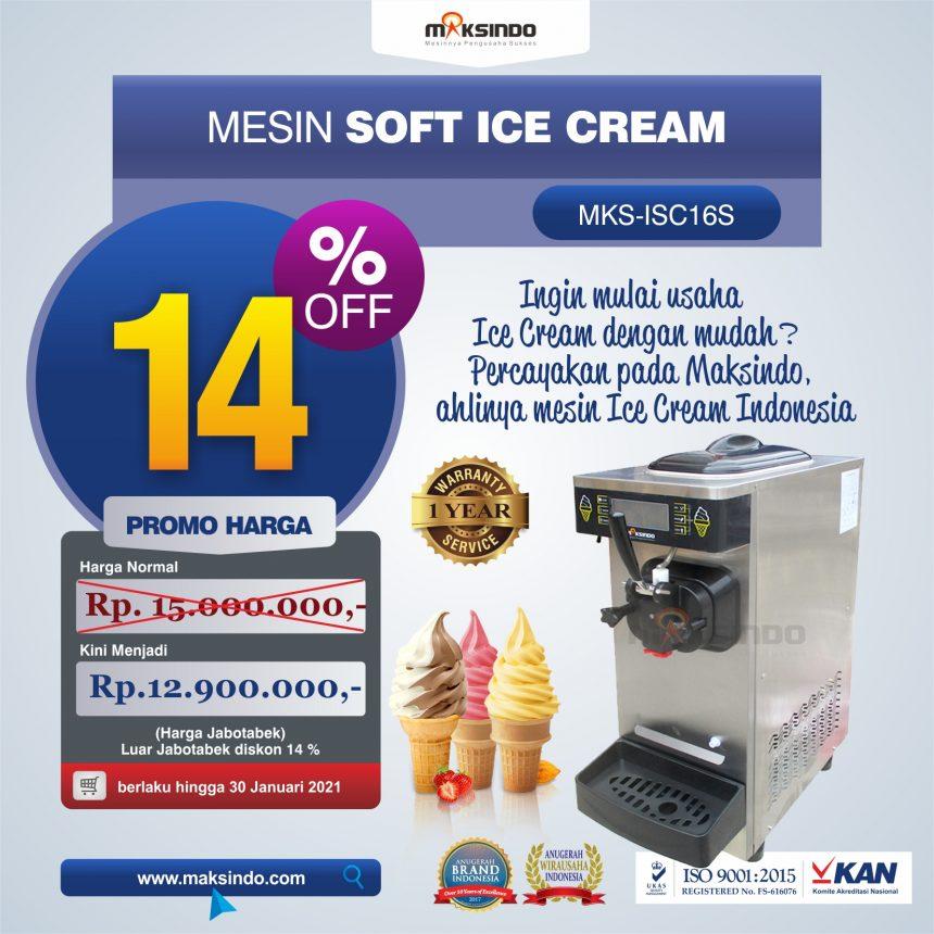 Jual Mesin Soft Ice Cream ISC-16S di Blitar
